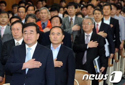 [사진]서울시교육청 이대영 권한대행 체제