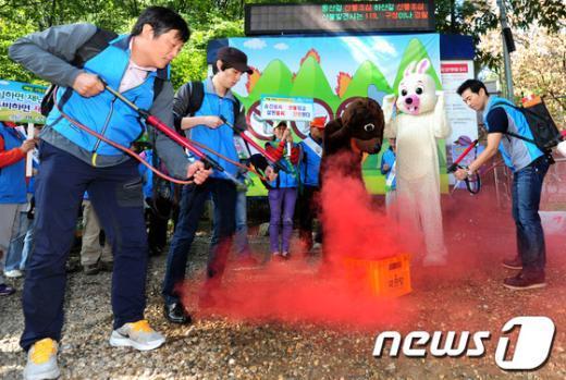 [사진]'가을철 산불 조심하세요!'