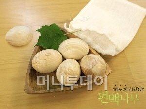 따뜻하고 건강한 편백나무 향기가 솔솔~!