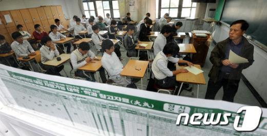 [사진]고3 마지막 전국연합학력평가