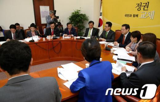 [사진]민주통합당 국정감사 상황점검 회의