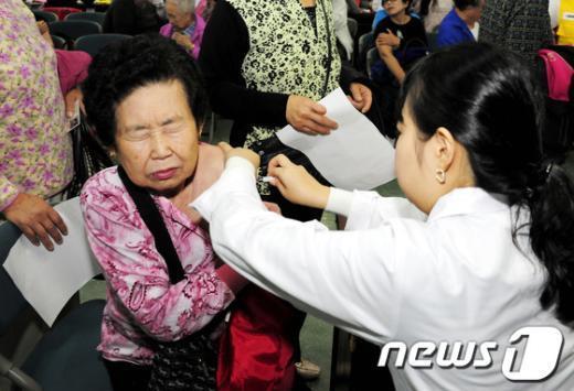 [사진]독감, 예방접종으로 물리치세요