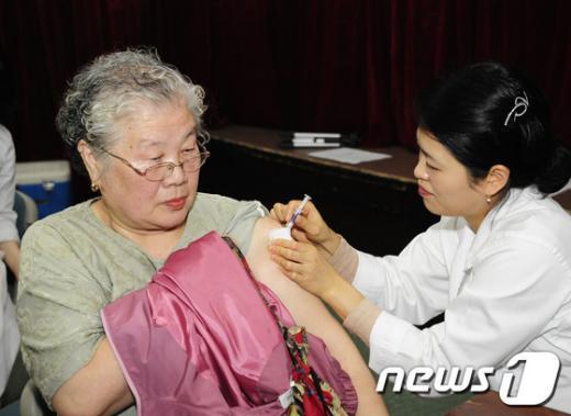 [사진]광진구, 무료 독감예방접종 실시