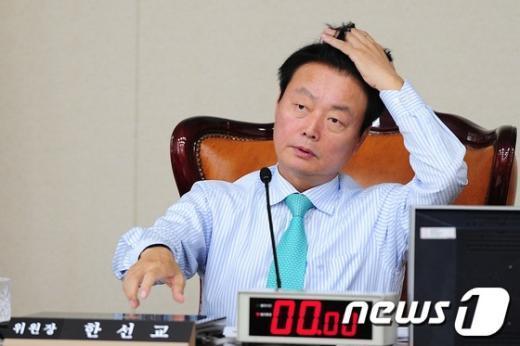 한선교 새누리당 의원. 2012.7.26/뉴스1  News1 한재호 기자