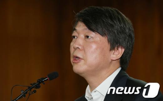 안철수 무소속 대선 후보. 2012.10.8/뉴스1  News1 양동욱 기자