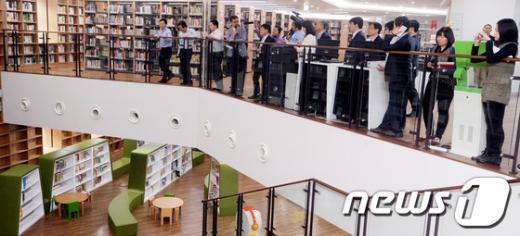 [사진]내부 공개된 서울 도서관