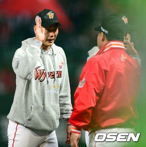 '10K' 김광현, '내가 SK의 에이스다'... 1차전 MVP