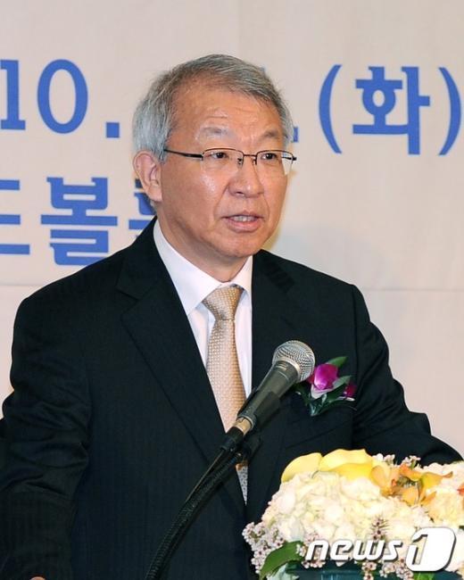 [사진]축사하는 양승태 대법원장