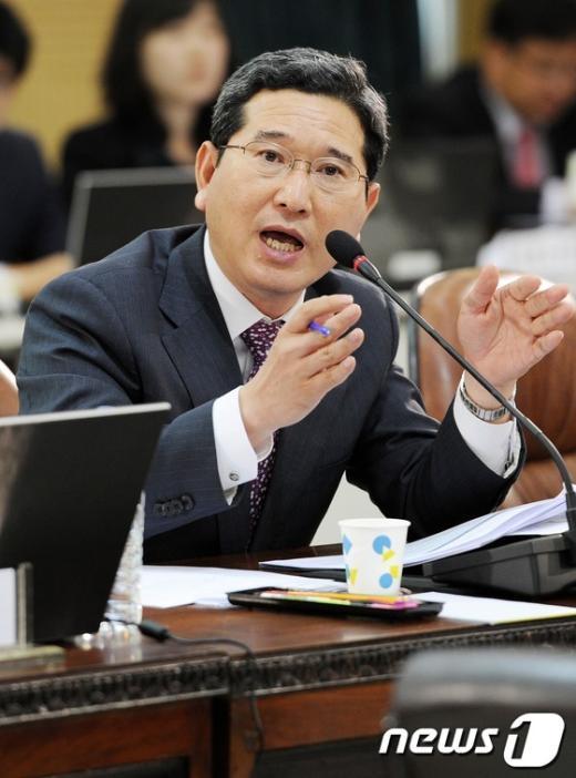 김학용 새누리당 의원  News1 오대일 기자