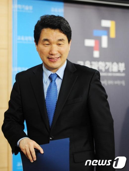 [사진]이주호 장관, 나로호 3차 발사 마무리 현황 브리핑