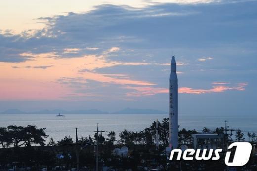 [사진]나로호 발사 D-1