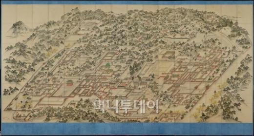 동궐도-동아대박물관 소장