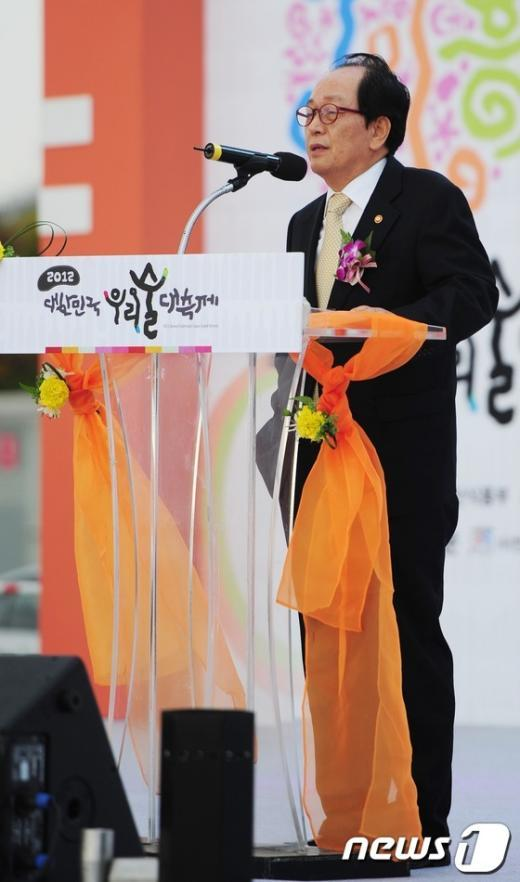 [사진]서규용 장관, 우리술 대축제 참석