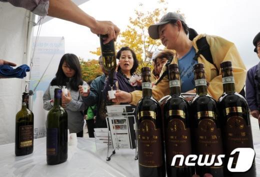 [사진]'와인도 전통주가 있네?'
