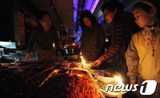 [사진]촛불시장