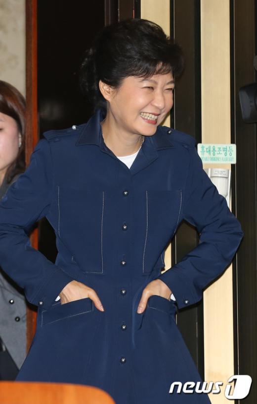 [사진]'기분좋은 박근혜'