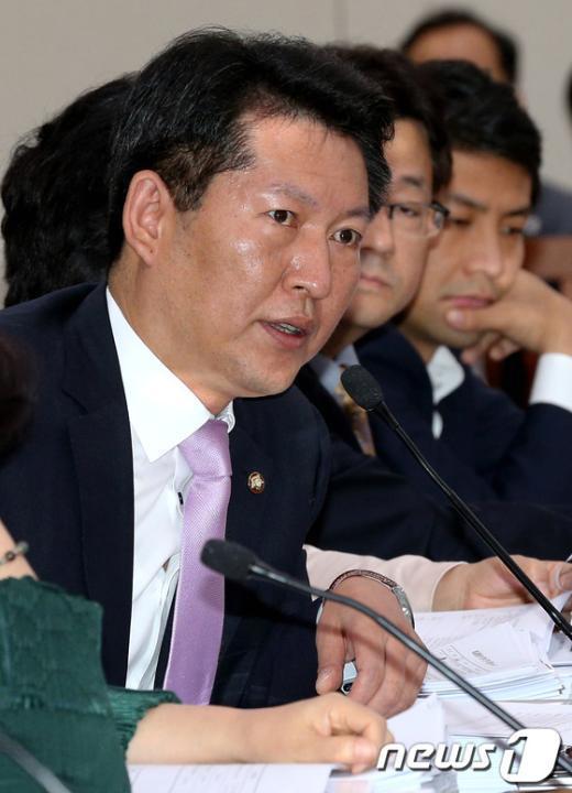민주통합당 정청래 의원. 2012.9.19/뉴스1  News1   박정호 기자