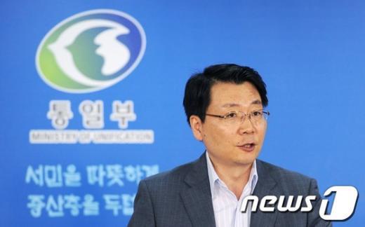 김형석 통일부 대변인. 2012.8.27/뉴스1  News1 박철중 기자