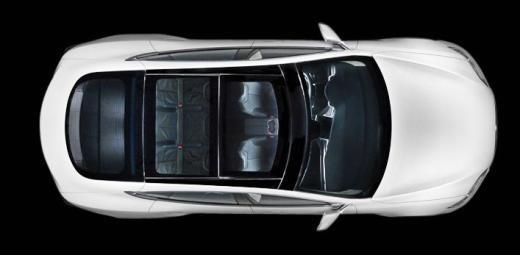 세단형 모델 The Tesla Model SⓒTesla Motors