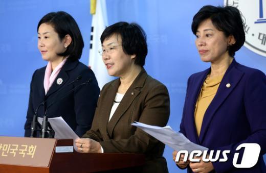 [사진]국회 아동ㆍ여성대상 성폭력 대책 특위 기자회견