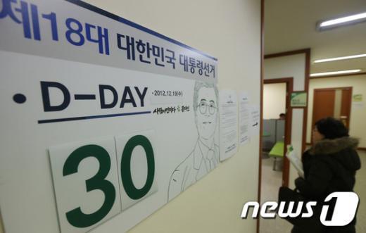 [사진]18대 대선 30일 앞둔 文 캠프
