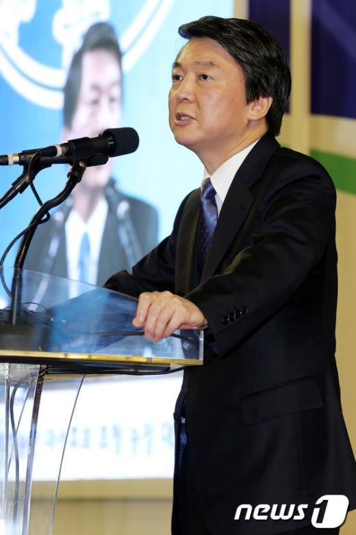 [사진]안철수, 농정 대토론회 축사