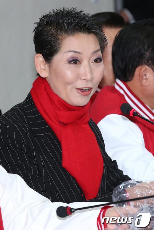 김성주 새누리당 중앙선대위 공동선대위원장. 2012.11.19/뉴스1  News1   양동욱 기자