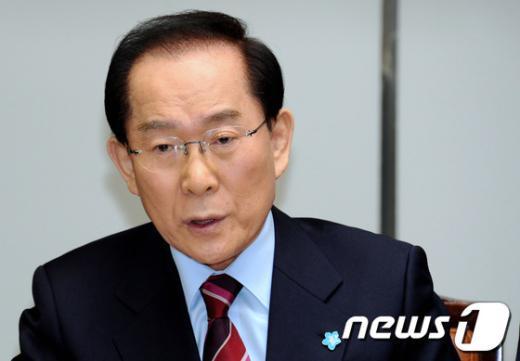 이회창 전 자유선진당 대표.  News1 박정호 기자