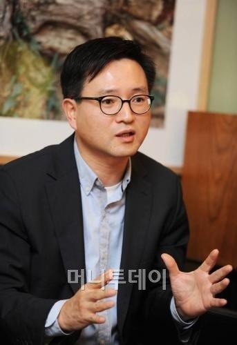 윤건수 대표. / 사진=구혜정 기자.