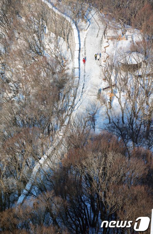 [사진]남산 설경