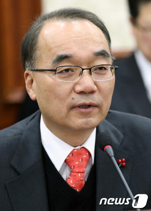 [사진]모두 발언하는 박재완 기획재정부 장관