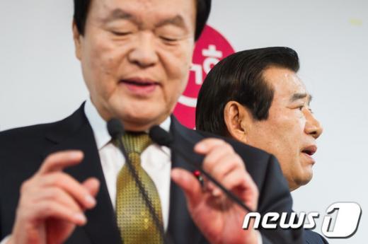 [사진]국민대통합위원장과 부위원장