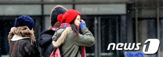 [사진]서울에도 '눈'