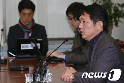 """[사진]최재성 """"여야 예산안, 큰 흐름은 잡혔다"""""""