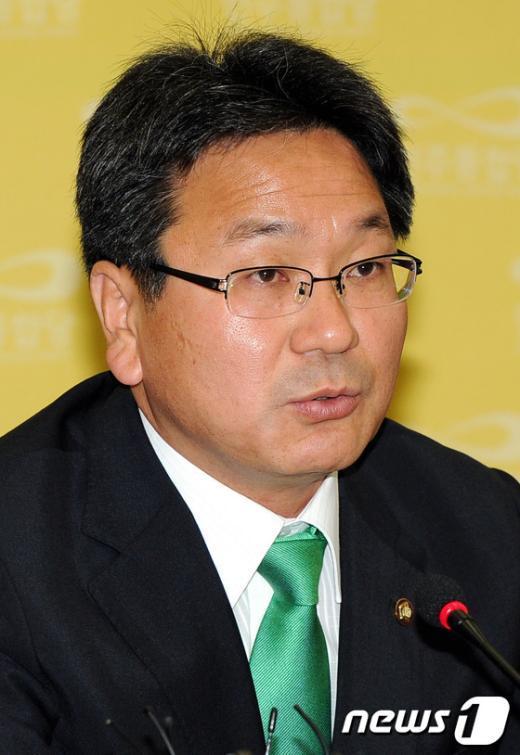 강기정 민주통합당 의원. News1 김한식 기자