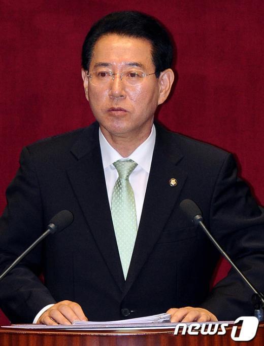 [사진]민주통합당 비대위 사무총장에 내정된 김영록 의원