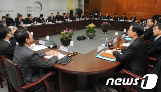 [사진]인수위, 기획재정부 업무보고