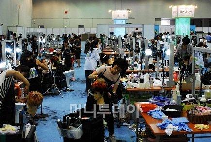 ↑ 2012년 9월 대구에서 열린 전국기능경기대회 모습.ⓒ한국산업인력공단