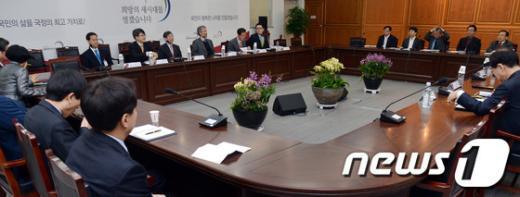 [사진]대통령직 인수위원회 간사회의