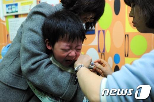 [사진]독감 비상...주의보 임박