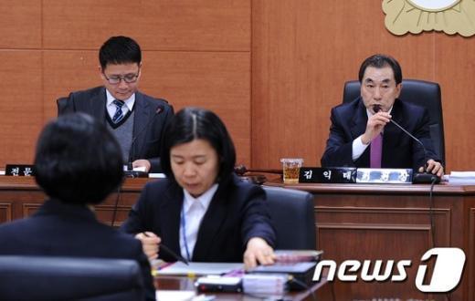 [사진]청원경찰 돌연사 특위 개최한 서초구의회
