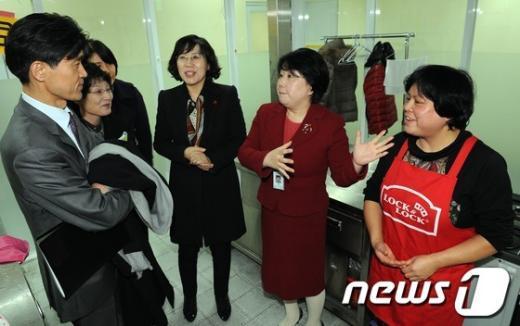 [사진]건강가족지원센터 찾은 여성문화분과