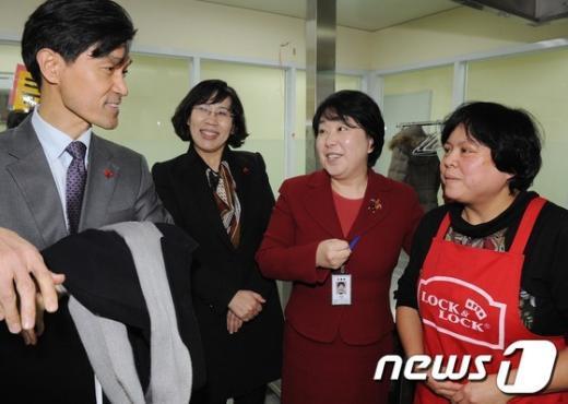 [사진]인수위 여성문화분과, 건강가족지원센터 방문