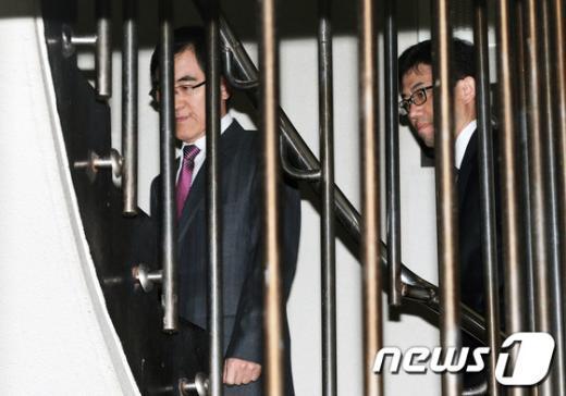 """[사진]상속소송 """"완승"""" 거둔 삼성 측 소송대리인"""