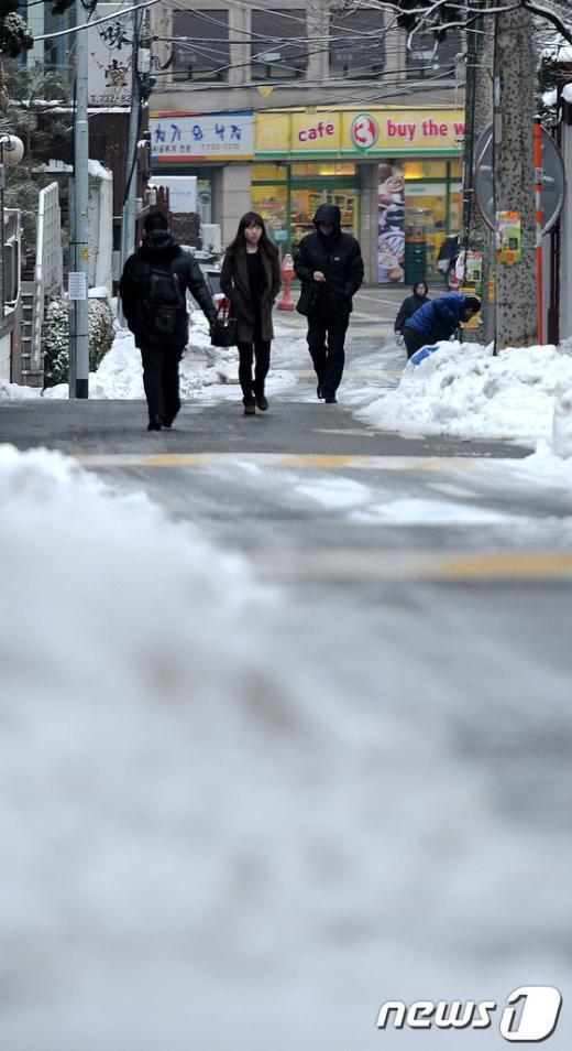 [사진]불편한 출근길