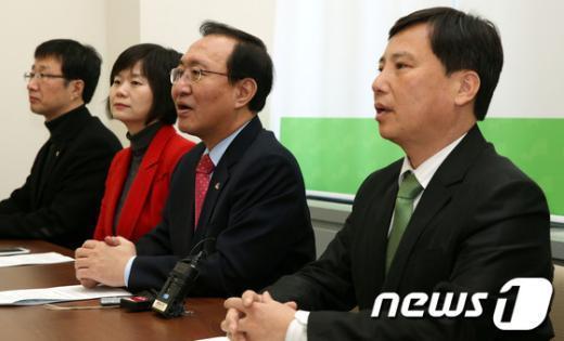 [사진]진보정의당 신년기자회견