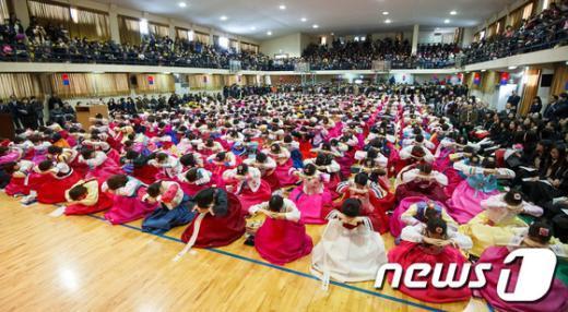[사진]동명여고 졸업식 및 성년례