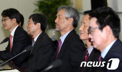 [사진]대통령직 인수위 간사단회의