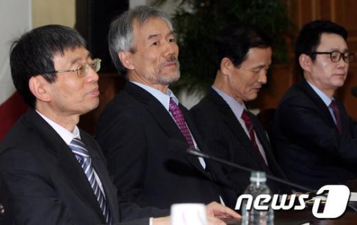 [사진]대통령직인수위원회 간사단회의