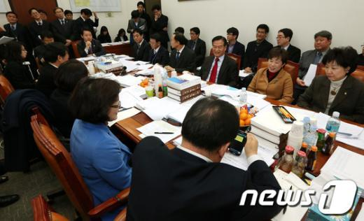 [사진]국회 교과위, 법안심사소위